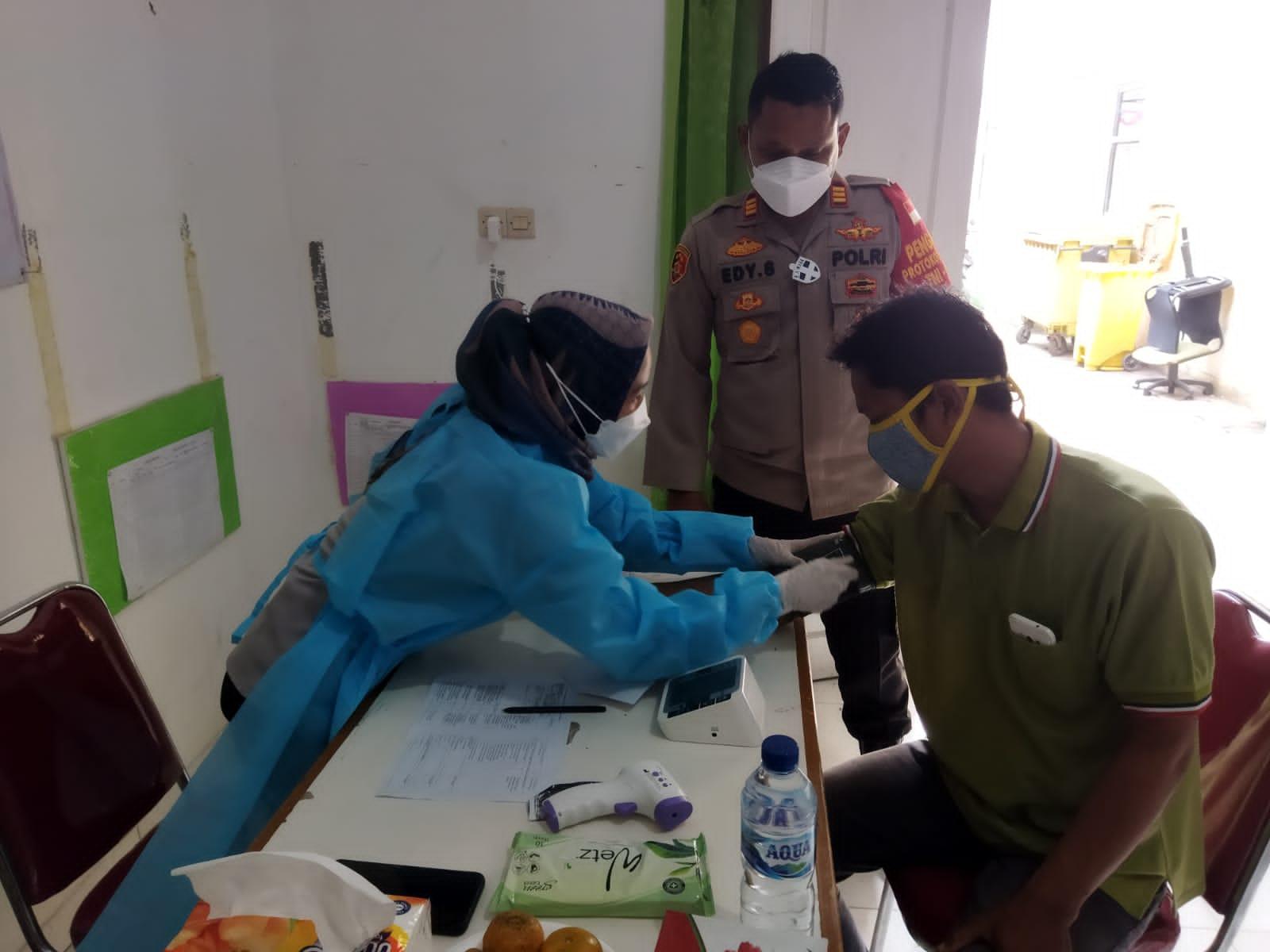 Polsek Tarumajaya Genjot Target Vaksinasi Nasional